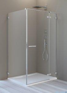 Radaway Arta Kdj II kabina 100x90cm prawa szkło przejrzyste + brodzik Doros D + syfon