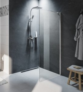 Riho Novik Z400 kabina prysznicowa Walk In 80x200cm przejrzyste GZ4080000