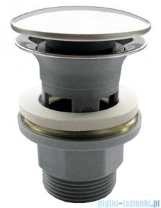 Oltens Jelsa korek do umywalki klik klak okrągły z przelewem G 1 1/4 chrom 05103100