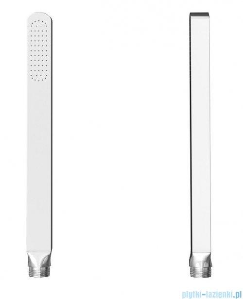 Kohlman Foxal zestaw prysznicowy z baterią podtynkową chrom QW432FR40