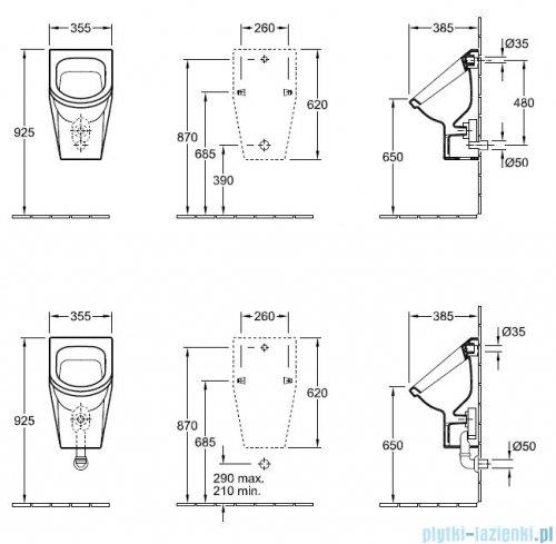 Villeroy&Boch Omnia architectura Pisuar   55740001