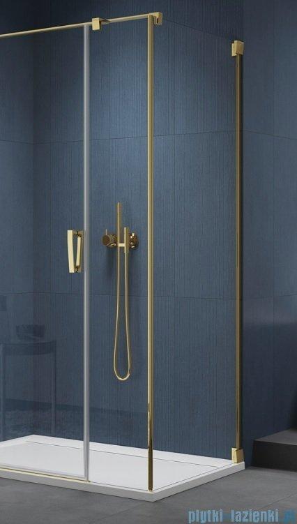 SanSwiss Cadura Gold Line ścianka boczna Cat5 75x200cm profile złote CAT50751207