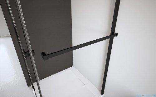 Radaway Modo New Black III kabina Walk-in 160x90x200 szkło przejrzyste 389164-54-01/389094-54-01/389000-54