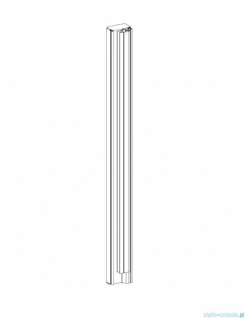 Roca Capital profil ścienny z uszczelką magnetyczną