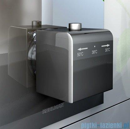Kohlman Excelent termostatyczna podtynkowa bateria wannowo-prysznicowa z trzema wyjściami QW433H