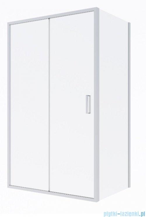 Oltens Fulla kabina prysznicowa prostokątna szkło przejrzyste 120x80cm 20203100