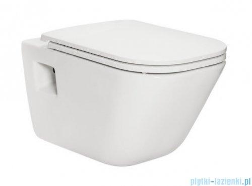 Roca Gap miska WC wisząca + deska wolnoopadająca Slim