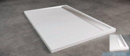 SanSwiss WIA Brodzik konglomeratowy prostokątny 90x140cm biały/połysk WIA901405004