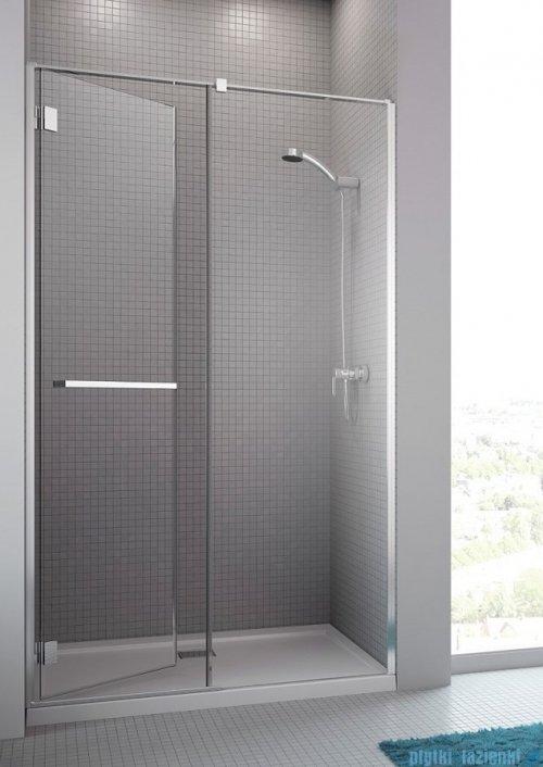 Radaway Carena DWJ Drzwi prysznicowe 110 lewe szkło przejrzyste