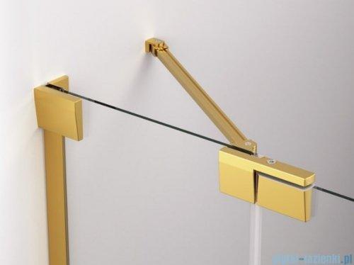 SanSwiss Cadura Gold Line drzwi wahadłowe 80cm jednoczęściowe lewe z polem stałym CA13G0801207
