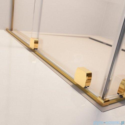 Radaway Furo Gold KDD kabina 110x90cm szkło przejrzyste 10105110-09-01L/10105090-09-01R