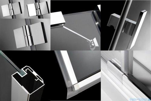 Radaway Essenza DWJ Drzwi wnękowe 120 lewe szkło przejrzyste 32732-01-01NL