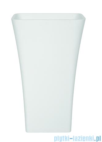 Besco Assos Glam złota umywalka wolnostojąca 41x52x85cm