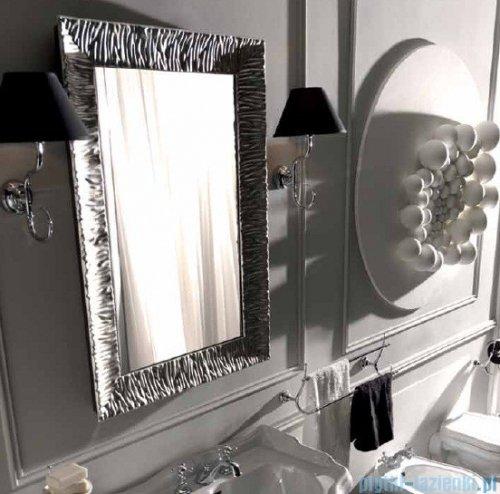 Kerasan Retro Lustro z ramą koloru srebrnego 70x100 cm 7365