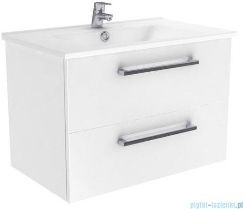 New Trendy Fargo szafka umywalkowa 75 cm biały połysk ML-8075