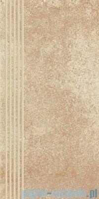 Paradyż Flash beige półpoler stopnica 30x60