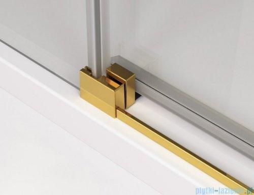 SanSwiss Cadura Gold Line kabina Walk in 140cm prawa ze ścianką przesuwną CAW2D1401207