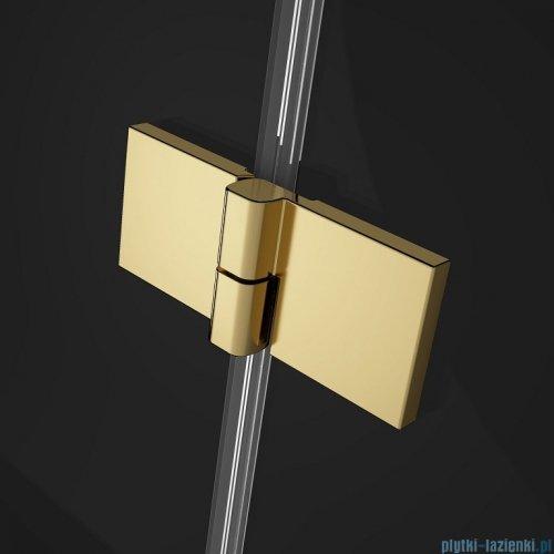 Radaway Essenza Pro Gold Kdj kabina 120x80cm lewa przejrzyste 10097120-09-01L/10098080-01-01