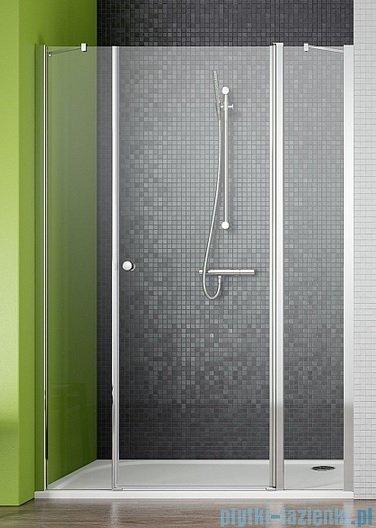 Radaway Eos II DWJS Drzwi prysznicowe 120x195 prawe szkło przejrzyste