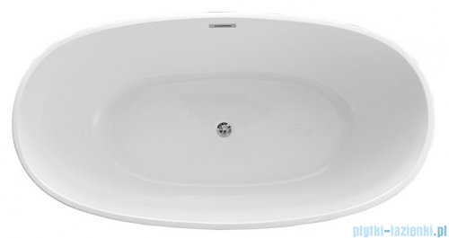 The North Bath Odin wanna wolnostojąca 170x85cm + Syfon Klik-klak 6601-1701