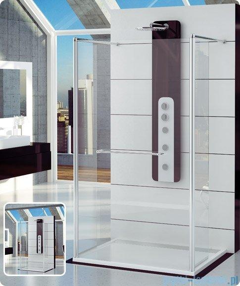 SanSwiss Fun Fut2 kabina Walk-in 90-160cm profil połysk FUT2SM15007