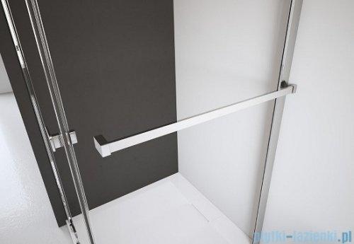 Radaway Euphoria KDJ+S Kabina przyścienna 90x100x90 prawa szkło przejrzyste wieszak na ręcznik