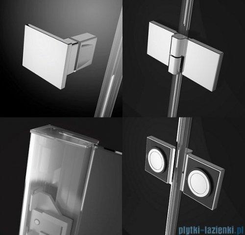 Radaway Essenza New Kdj+S kabina 100x100x100cm lewa szkło przejrzyste + brodzik Doros C + syfon