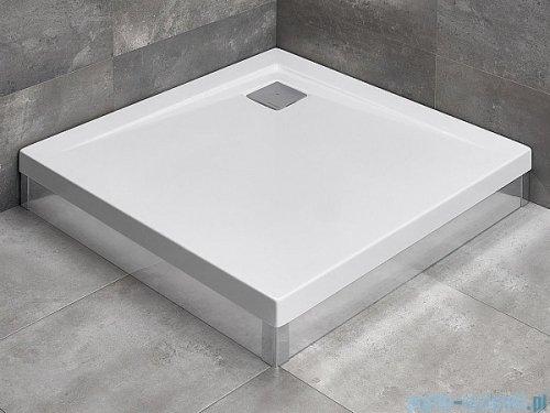 Radaway Brodzik kwadratowy Argos C 100x100x14,5 cm + nogi 4ACN1010-02