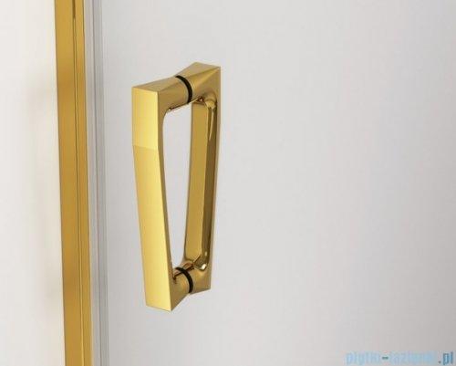 SanSwiss Cadura Gold Line drzwi przesuwne 170cm jednoskrzydłowe lewe z polem stałym CAS2G1701207