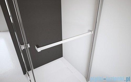 Radaway Euphoria Walk-in II kabina 140cm szkło przejrzyste wieszak na ręcznik