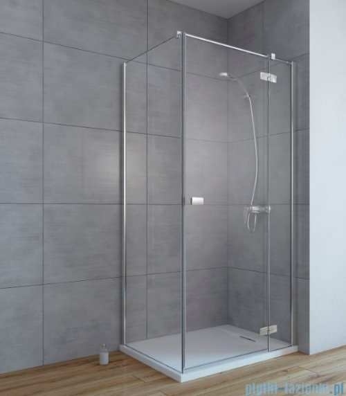 Radaway Fuenta New Kdj kabina 80x120cm prawa szkło przejrzyste 384043-01-01R/384054-01-01