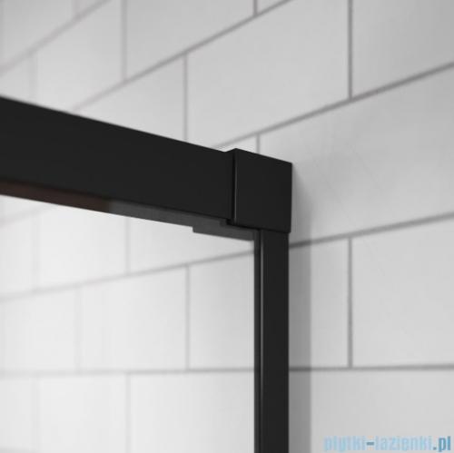 Radaway Idea Black Kdd kabina 80cm część prawa szkło przejrzyste 387061-54-01R