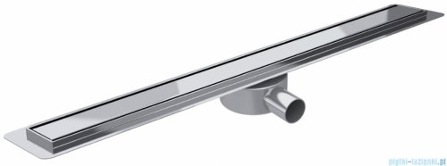 Wiper Premium Slim Pure odpływ liniowy 100 cm z kołnierzem