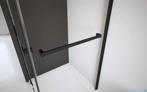 Radaway Idea Black Pnj parawan nawannowy 80cm przejrzyste L/P 10001080-54-01