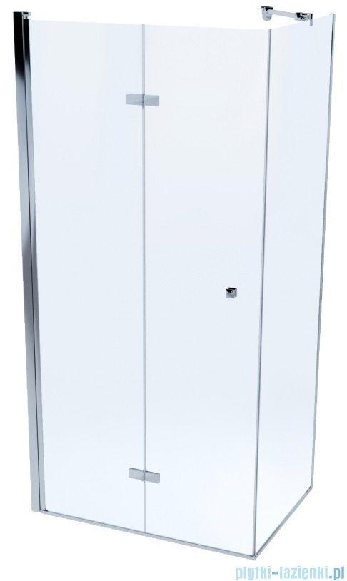 Massi Montero kabina prostokątna bifold 110x90x190cm przejrzyste MSKP-MN-00211090