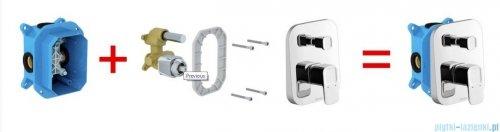 Ravak 10° bateria podtynkowa z przełącznikiem do R-box X070070