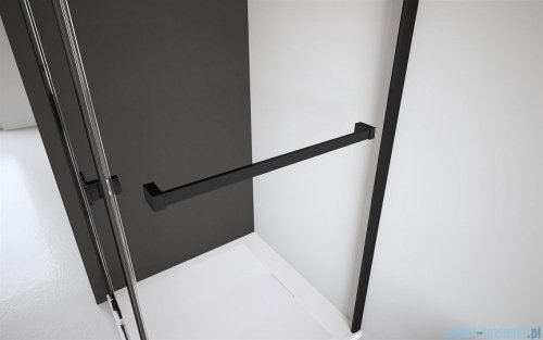 Radaway Modo X Black II kabina Walk-in 55x200 szkło przejrzyste 10mm 389255-54-01