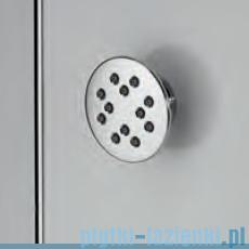 Novellini Glax 3 kabina prysznicowa z hydromasażem 100x70 prawa srebrny GL3A197DM1-1B