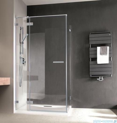 Radaway Euphoria KDJ Kabina prysznicowa 100x90 lewa szkło przejrzyste montaż na posadzce