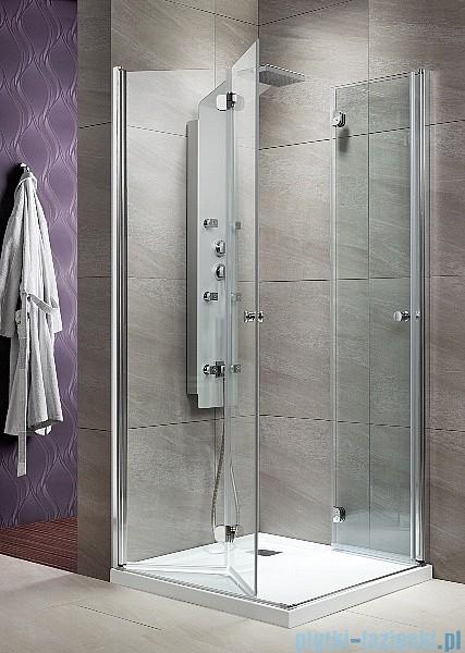 Radaway Eos KDD-B kabina prysznicowa 80x80 szkło przejrzyste