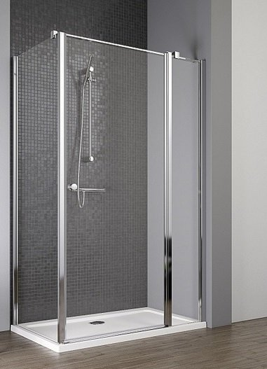 Radaway Eos II KDJ kabina prysznicowa 100x90 prawa szkło przejrzyste + brodzik Argos D + syfon