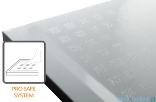 Sanplast Space Mineral brodzik prostokątny z powłoką 110x100x1,5cm+syfon 645-290-0640-01-002