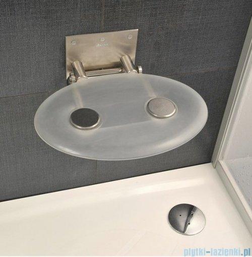 Ravak Siedzisko Ovo P- przezroczyste do kabin prysznicowych B8F0000000