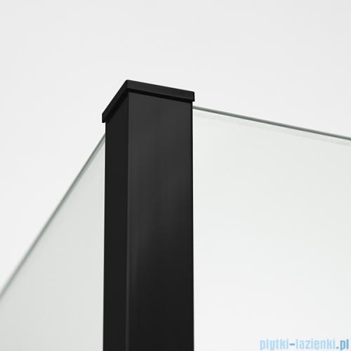 New Trendy New Modus Black kabina Walk-In 110x30cm przejrzyste EXK-0092/EXK-0088/EXK-0088