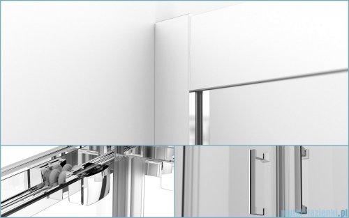 Besco Modern kabina kwadratowa 90x90x185cm mrożone