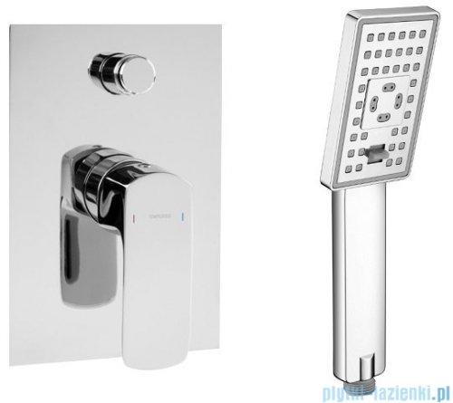 Omnires Kansas podtynkowy zestaw prysznicowy chrom SYSKN10