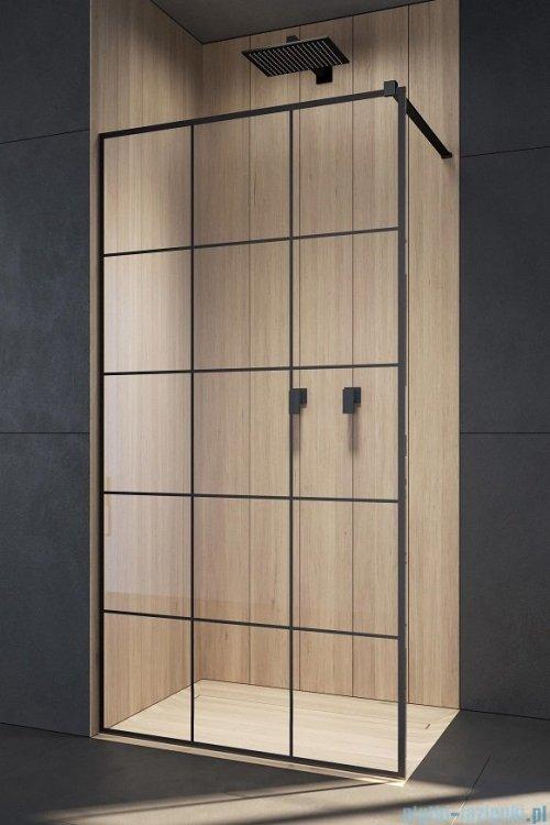 Radaway Modo New Black II 110x200 Factory kabina Walk-in industrialny, loft