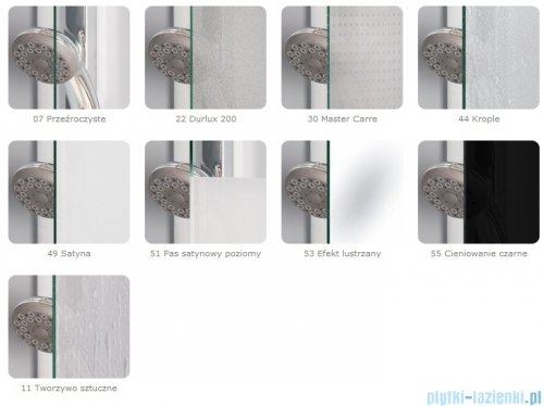 SanSwiss Pur PUE2 Wejście narożne 2-częściowe 75-120cm profil chrom szkło Durlux 200 Lewe PUE2GSM11022
