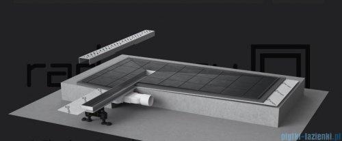 Radaway Slim Steel odpływ liniowy 65x6cm 5L065S/5R065SS