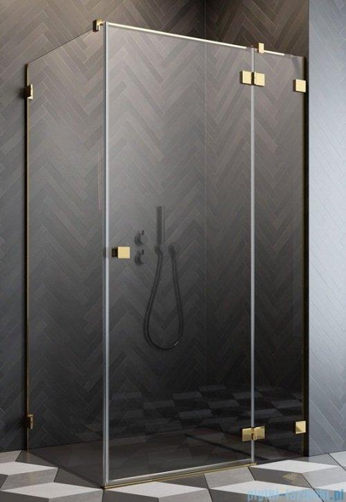 Radaway Essenza Pro Gold Kdj kabina 120x110cm prawa przejrzyste 10097120-09-01R/10098110-01-01